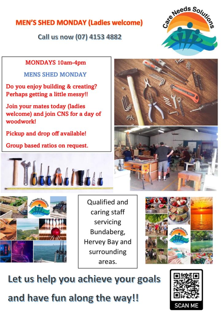 Microsoft Word - MENS SHED MONDAY